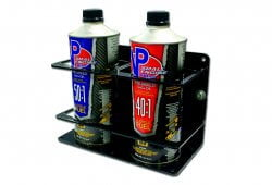 Double Premix/Bar Container Holders - Black