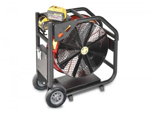 Super Vac NEW Battery Fan with DeWalt Batteries