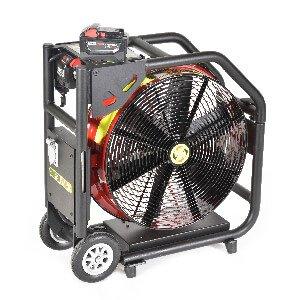 Super Vac 18″ Milwaukee-Powered Battery Fan