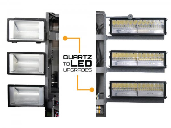 Command Light Quartz to LED Reftrofit