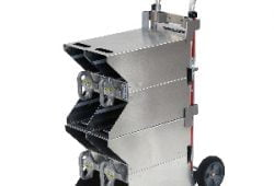 NEW SafeTSystem Folding Hand Cart for SCBA Bottles