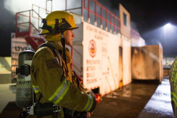 UVU Winter Fire School Training
