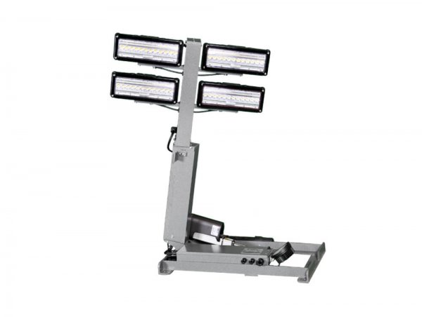 LED Light Towers with 4' Reach from Base