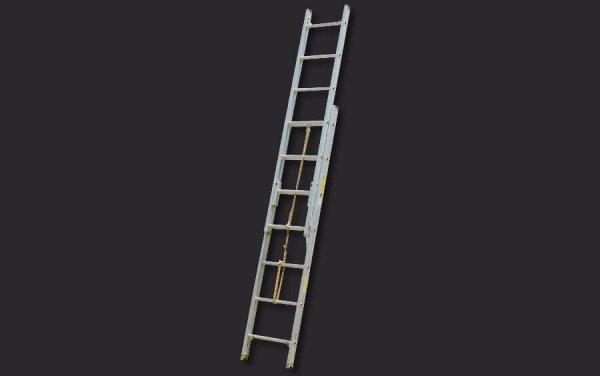 Aluminum Pumper Type Roof Ladder