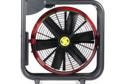 Battery Powered PPVs – Super Vac NEW 16″ Battery Fan